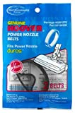 Hoover 40201270 Agitator Belts, 2 belt pack