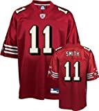 Click here to buy Alex Smith Replica Red San Francisco 49ers NFL Jersey by Reebok.
