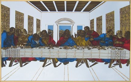 Last Supper Mirror