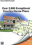 2800+ Exceptional Country House Plans (PC CD Boxed)