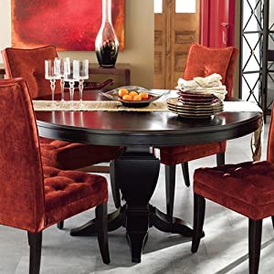 The Bombay Company Store: Newbury Dining Table - Ebony :  home furniture dining table