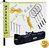 Park and Sun BM-PS ALUM Badminton Pro Set by Park & Sun