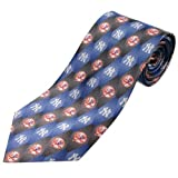Eagles Wings New York Yankees Pattern 1 Silk Tie by EAGLES WINGS