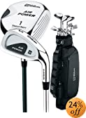 Wilson Golf Air Power 16 Piece Golf Set Mens Left Hand - G6831 by Wilson
