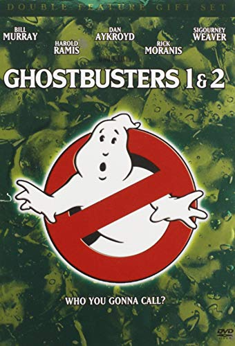 Ghostbusters Double Feature Gift Set Ghostbusters / Ghostbusters 2 + Commemorative Book