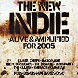 Copertina di album per The New Indie (Alive & Amplified for 2005)