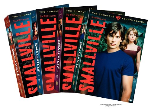 Smallville - The Complete First Four Seasons DVD