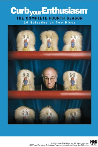 Curb Your Enthusiasm: The Complete Fourth Season DVD