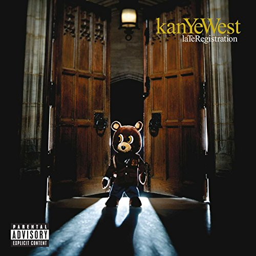 Original album cover of Late Registration by Kanye West