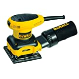 DEWALT D26441 Heavy-Duty 1/4 Sheet Palm Grip Sander