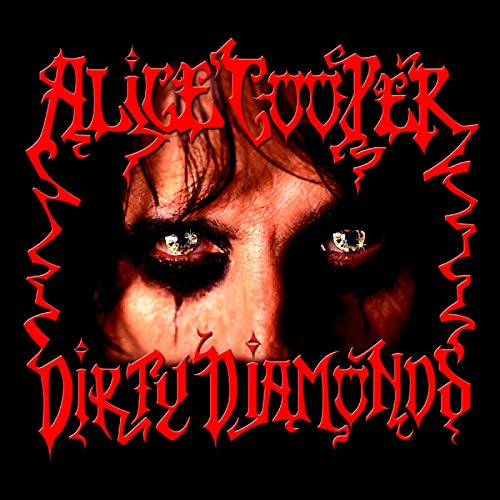 Dirty Diamonds by Alice Cooper album cover