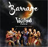 Capa do álbum Barrage - Vagabond Tales