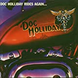 Cubierta del álbum de Doc Holliday Rides Again...