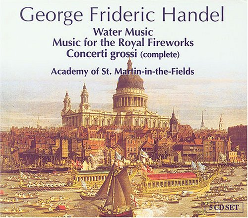 Water Music/Music for Royal Fireworks/&