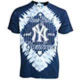 New York Yankees Infield Tie Dye T-shirt by Liquid Blue