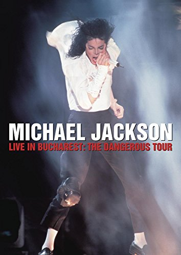 Original album cover of Michael Jackson: Live in Bucharest: The Dangerous Tour by Michael Jackson