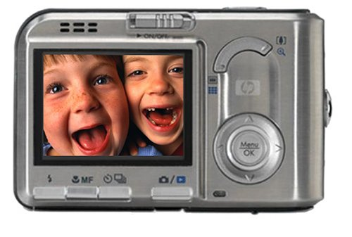 HP Photosmart R817 5MP Digital Camera with 5x Optical Zoom & R-series Dock Bundle