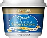 Shortening, 100% Vegetable, Organic, 24 oz.
