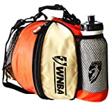 WNBA Basketball Ballbag with Pockets and Water bottle by