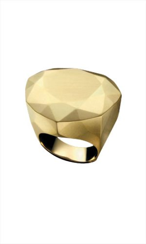 Power Ring in Bold Size - DIANE von FURSTENBERG :  modern bold gold jewellery