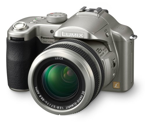Panasonic Lumix DMC-FZ30S 8MP Digital Camera with 12x Image Stabilized Optical Zoom (Silver)