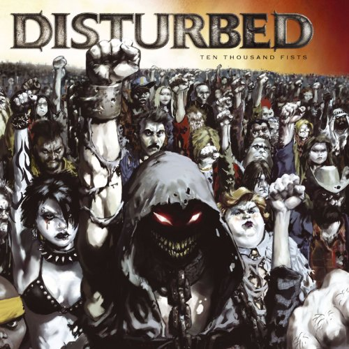 CD-Cover: Disturbed - Ten Thousand Fists