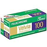 Fujifilm Fujichrome Velvia RVP 100 Color Slide Film, ISO 100, 220 Size, Transparency, U.S.A.