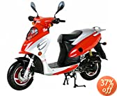 Moped Gas Street Scooter 50cc 4 Stroke by