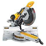 "DEWALT DW718 Heavy Duty 12"" (305mm) Double-Bevel Sliding Compound Miter Saw"