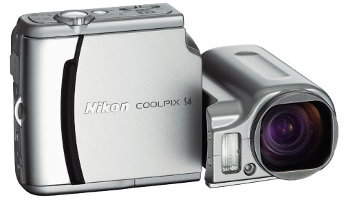 Nikon Coolpix S4 6MP Digital Camera with 10x Optical Zoom
