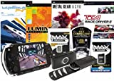 Sony PSP Console Bundle (Inc: PSP Value Pack, WipEout, Lumines, Metal Gear Acid, TOCA, Vinyl Case, Battery, 128 MB Memory, Get Connected Software)