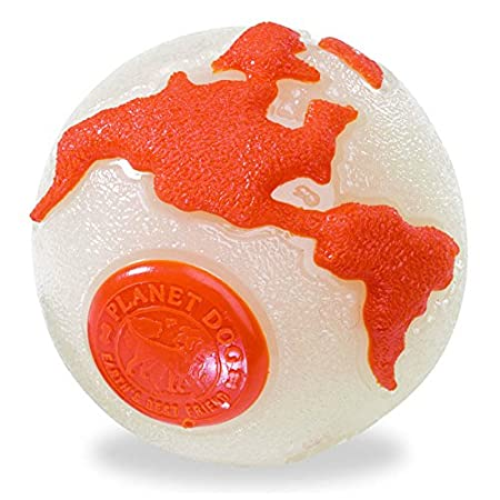 Glow/orange Orbee-tuff Ball – Large