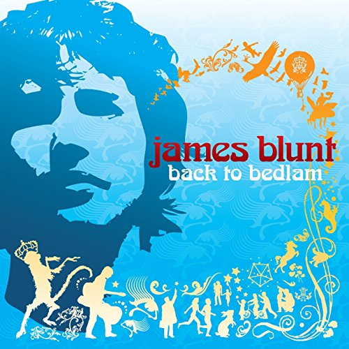 Original album cover of Back to Bedlam by James Blunt