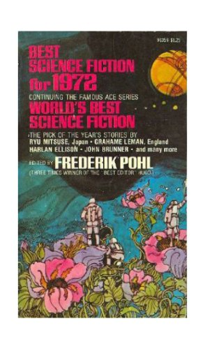 Best Science Fiction for 1972