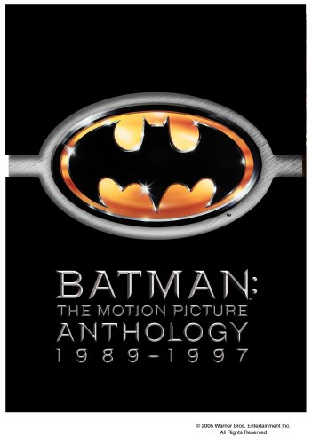 Batman: The Motion Picture Anthology cover