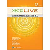 Xbox 360 Live 12--mo Gold Card Kit