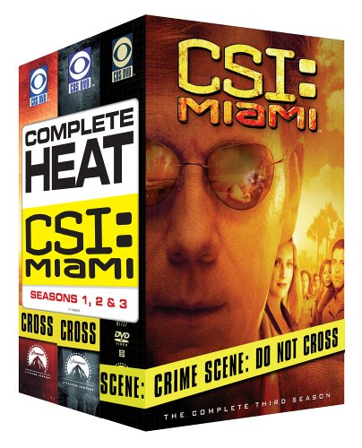 C.S.I. Miami - The Complete Seasons 1-3 DVD