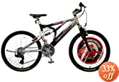 Mongoose Men's 26-Inch Syncome Dual Suspension Mountain Bike by Mongoose