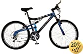 Mongoose Men's 26-Inch Maneuver Dual Suspension Mountain Bike by Mongoose