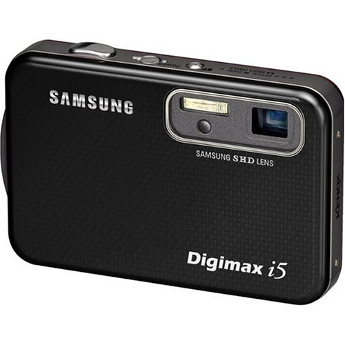 Samsung Digimax i5 5MP Digital Camera with 3x Optical Zoom (Black)