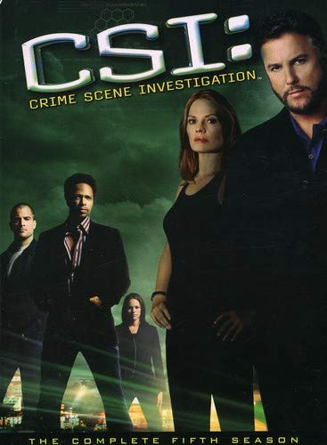 C.S.I. Crime Scene Investigation - The Complete Fifth Season DVD