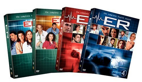 ER - The Complete First Four Seasons [20pc] DVD