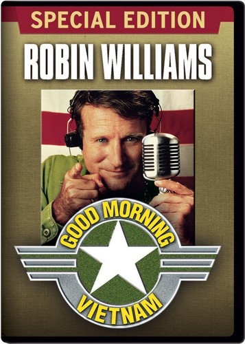 Good Morning, Vietnam (1988) BOOMERNET Movies of the Vietnam War 351x500 Movie-index.com