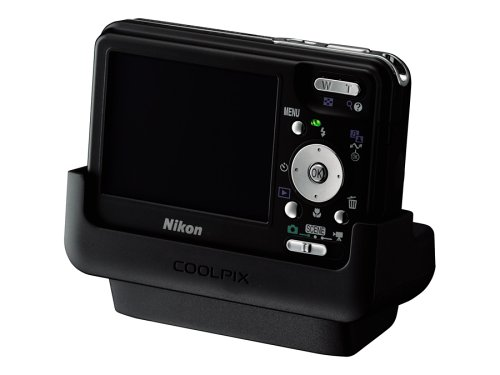 Nikon Coolpix S3 6MP Slim-Design Digital Camera with 3x Optical Zoom (Includes Dock)