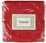Tadpoles Basic Solid Red 2pc. Set 84 Curtain Panels