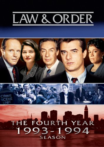 Law & Order - The Fourth Year  DVD