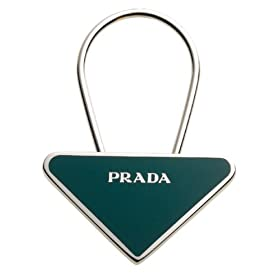 Prada Triangle Key Chain