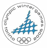 Torino 2006 Winter Olympics Circle Pin