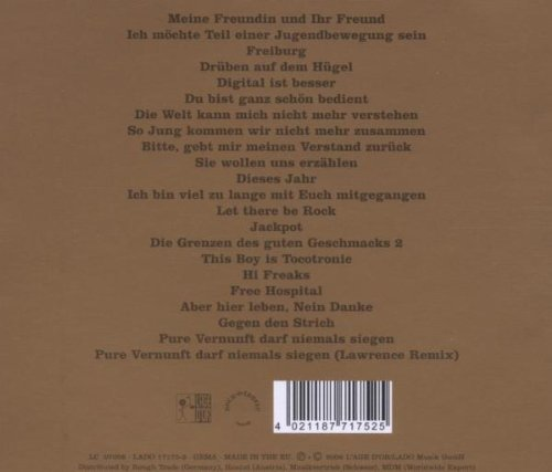 Best Of Tocotronic (Limited Edition mit Bonus-CD)