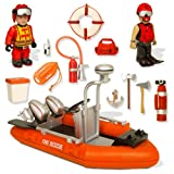 Mighty World River Rescue Playset